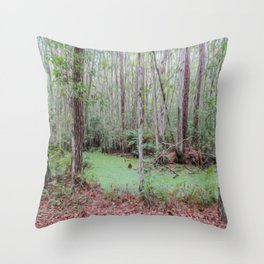 Submerge Your Worries Throw Pillow