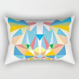 Diamond Kaleidoscopic Cat Rectangular Pillow