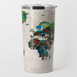 World Map 61 Travel Mug