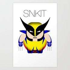 SNKIT: Chubby Wolverine Art Print