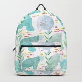 Lazy Manatees Backpack