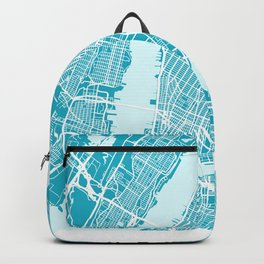 New York Map  Aqua  More Colors, Review My Collections Backpack