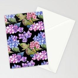 Hydrangea Pattern 05 Stationery Cards