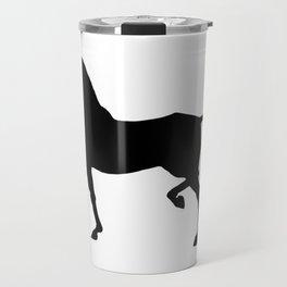 Trotting Akhal-Teke Silhouette Travel Mug