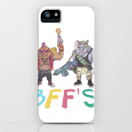 BFF'S iPhone Case