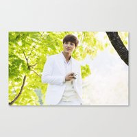 exo Canvas Prints featuring EXO Kai by TheRmickey