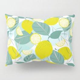 Lemons and Slices Pillow Sham