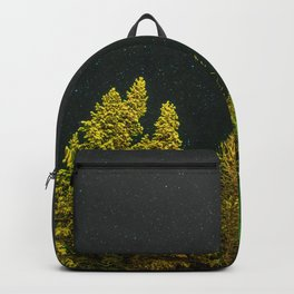 Pine Trees and Stars (Color) Backpack