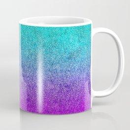 Tropical Twilight Glitter Gradient Coffee Mug