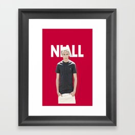 One Direction - Niall Horan Framed Art Print