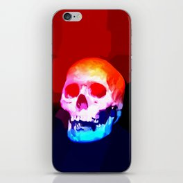 Skull02 iPhone Skin