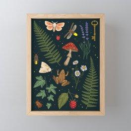 Summer Nights Framed Mini Art Print