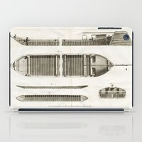 boats iPad Cases featuring Boats by Le petit Archiviste