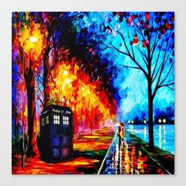 Tardis Style Canvas Print