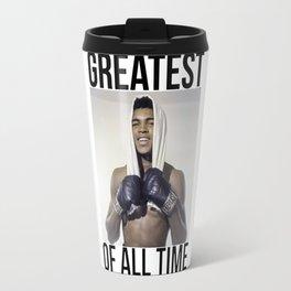"Muhammad ""Greatest of All Time"" Ali Travel Mug"