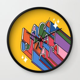 I Am What I Am // Pride Wall Clock