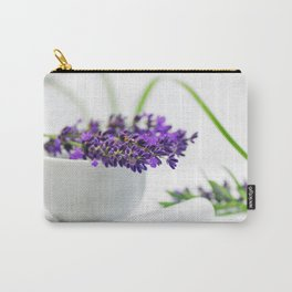 Lavender still life for pharmacies or curative practitioners Carry-All Pouch