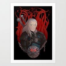 Geralt Art Print