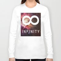 infinite Long Sleeve T-shirts featuring Infinite by Sney1