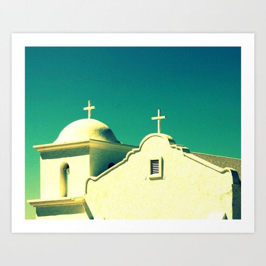 Dos Cruzas fine art photography Art Print