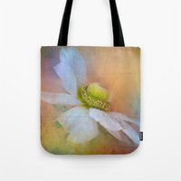 the strokes Tote Bags featuring Bold Strokes by Teresa Pople