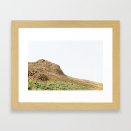 Exposed landscape Framed Art Print