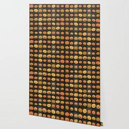 Pumpkin Check Wallpaper