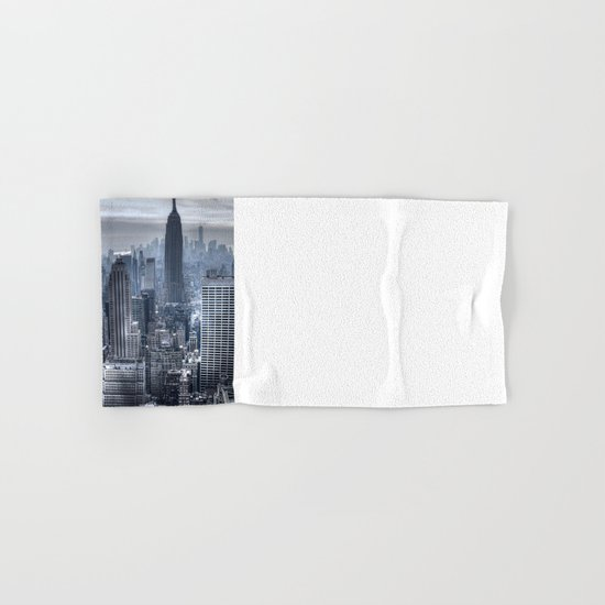 New York skyscrapers Hand & Bath Towel