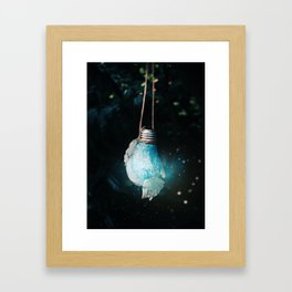 birth of the light Framed Art Print