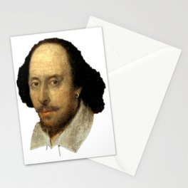 William Shakespeare: The Head of English Theatre Stationery Cards