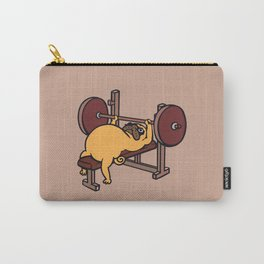 Pug Bench Press  Carry-All Pouch