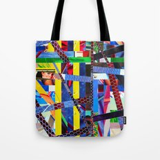 Bruce (stripes 13) Tote Bag