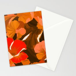 Donna's Autumn Woodcut Stationery Cards