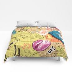 Pop Doodle Comforters