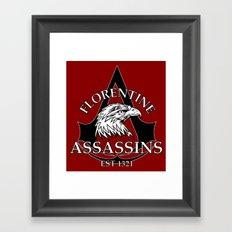 Florentine Assassins Framed Art Print