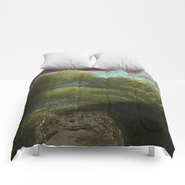 blue rush Comforters