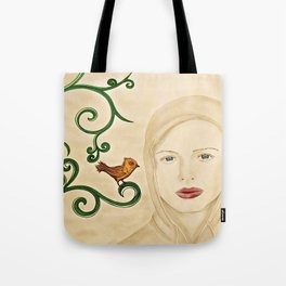a little birdie told me.... Tote Bag