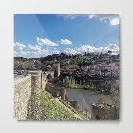 Toledo , Spain Metal Print