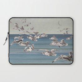 On their way- gulls in flight Laptop Sleeve
