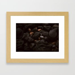 Hawaii Igneous Rock Framed Art Print