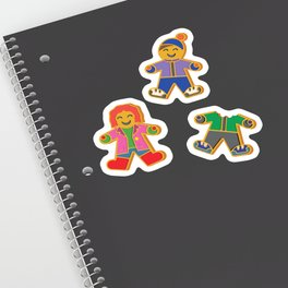 Christmas Gingerbread Cookie Sticker