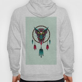 Owl Bird Dreamcatcher Art Hoody