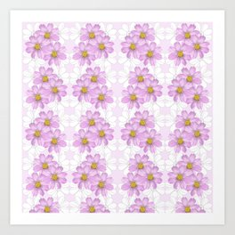 Tulip_South Africa_Pink Kosmos Art Print