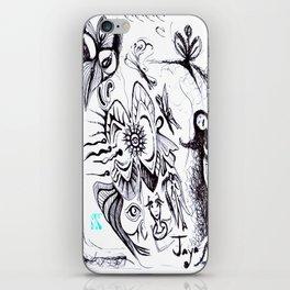 THE WORLD OF FAIRIES iPhone Skin