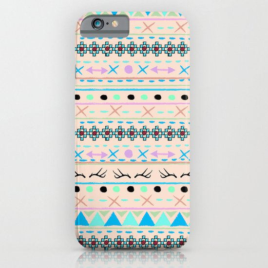 SWEET WINTER PATTERN iPhone & iPod Case