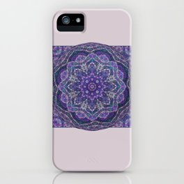 Batik Meditation  iPhone Case