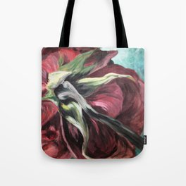 Unexpected Rose Tote Bag