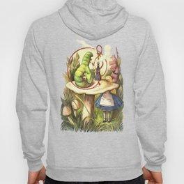 Alice & The Hookah Smoking Caterpillar - Alice In Wonderland Hoody
