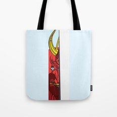 Strait Samurai Sword Tote Bag