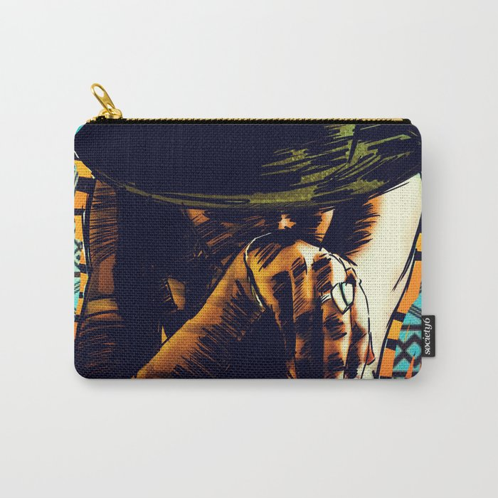 Cool hat Carry-All Pouch